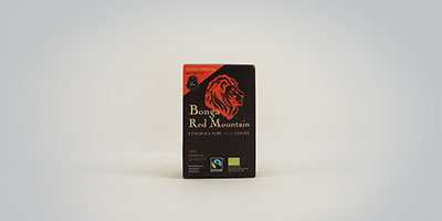 Kaffa Bonga Red Mountain, Ristretto 10 capsules Kapseln