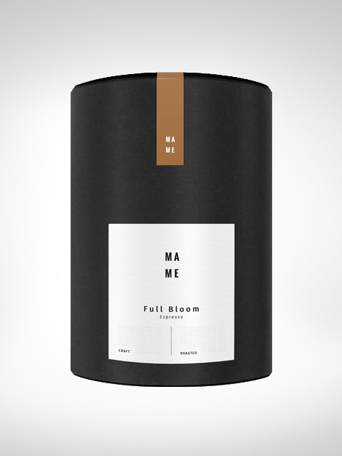 MAME Full Bloom, espresso